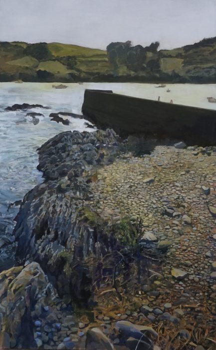 Mill Cove acrylic on canvas 90cm x 150cm
